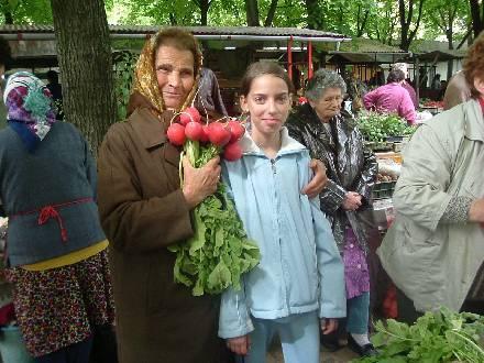 Hongarije boerenmarkt