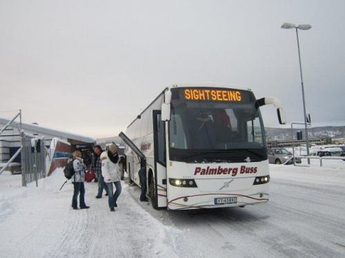 Bus Evenes-Lofoten Svolvaer
