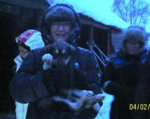 Ann met Puppy