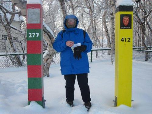 Kirkenes grenskantoor Rusland